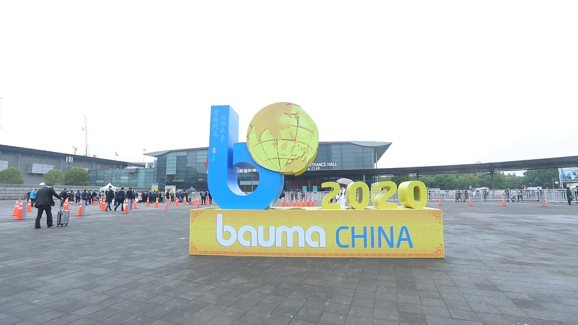bauma CHINA 2020 DAY 1