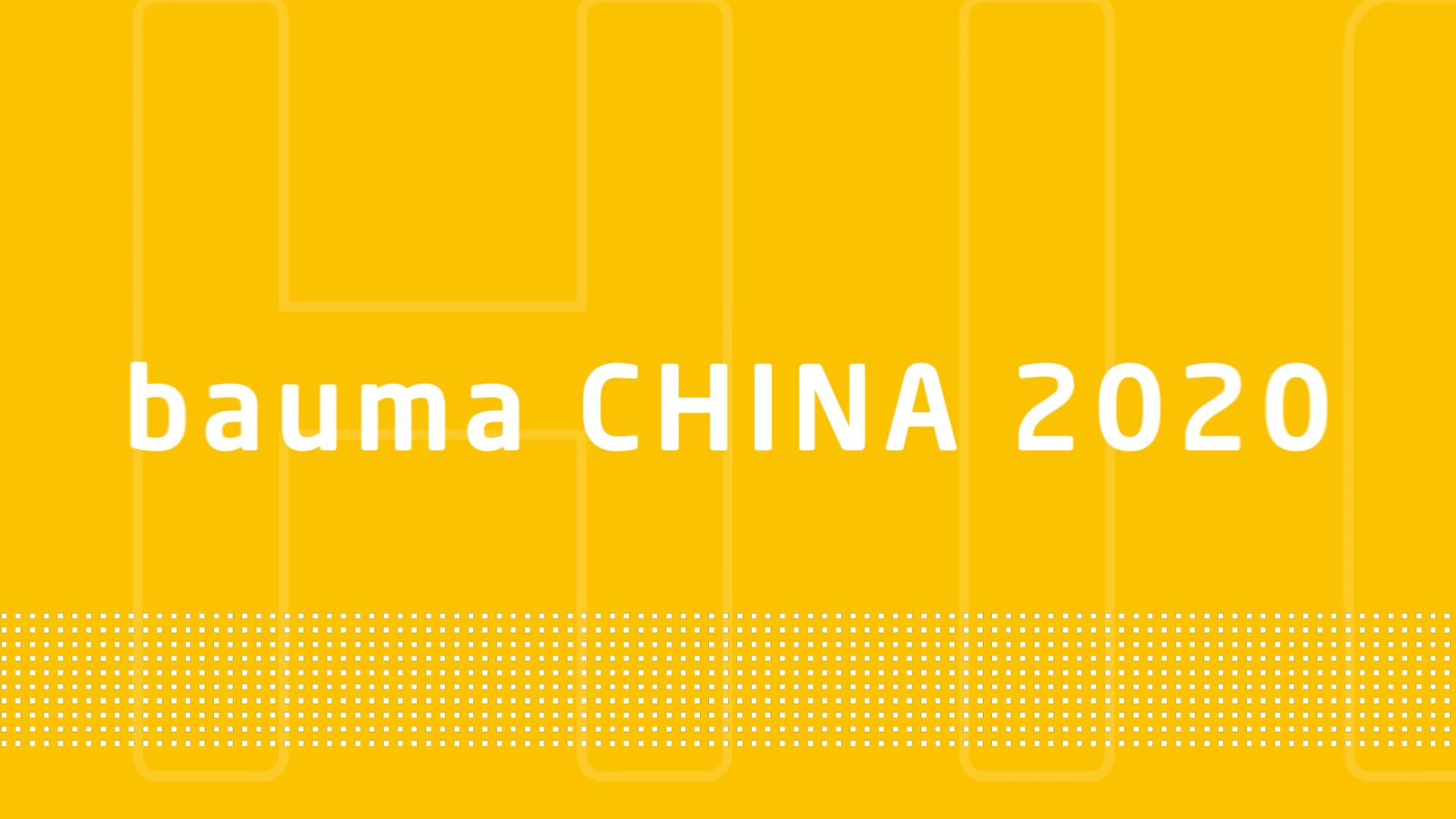 bauma CHINA 2020 DAY 2
